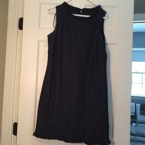 Navy blue lace summer 👗 dress!